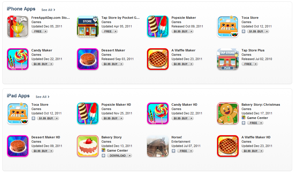Seo Games With Games In The App Store