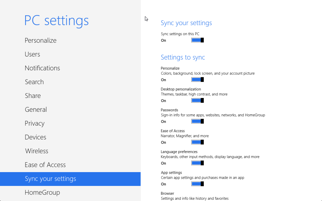 Windows SkyDrive Sync