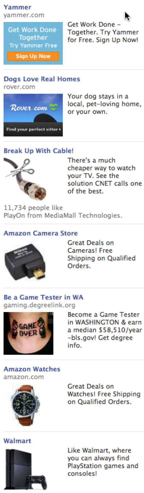 Bad Facebook ads